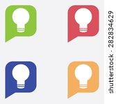 idea icon in dialog box