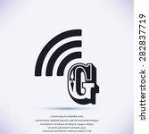 letter g  icon  | Shutterstock .eps vector #282837719