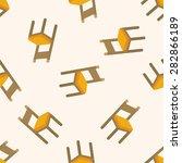 chair  seamless pattern | Shutterstock .eps vector #282866189