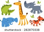 Collection Of Zoo Animals....