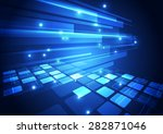 vector digital technology... | Shutterstock .eps vector #282871046