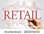 retail word cloud  business... | Shutterstock . vector #282876653