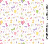 party accessories vector... | Shutterstock .eps vector #282883580