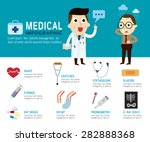 medical concept. infographic... | Shutterstock .eps vector #282888368