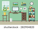 flat modern design concept for... | Shutterstock .eps vector #282904820