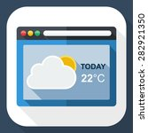 weather forecast application...