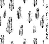 seamless black and white... | Shutterstock .eps vector #282926150