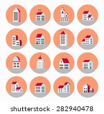 a flat city of urban style... | Shutterstock .eps vector #282940478