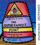 Southernmost Point Marker...