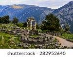 Sanctuary Of Athena  Delphi...