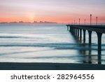 New Brighton Pier At Sunrise ...