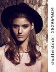 close up portrait of a...   Shutterstock . vector #282964604