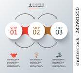 vector elements for infographic.... | Shutterstock .eps vector #282981350