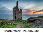 Stunning Sunset At Wheal Owles...