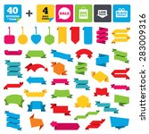 web stickers  banners and...   Shutterstock .eps vector #283009316