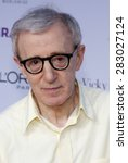 Small photo of Woody Allen at the Los Angeles premiere of 'Vicky Cristina Barcelona' held at the Mann Village Theatre in Westwood on August 4, 2008.