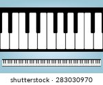 Piano Keyboards Vector...