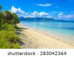 beautiful sea and coastlines of ... | Shutterstock . vector #283042364