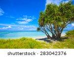 beautiful sea and coastlines of ...   Shutterstock . vector #283042376