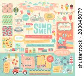 Summer Scrapbook Set  ...