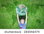 sustainable environment and... | Shutterstock . vector #283046474