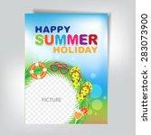 summer flyer   Shutterstock .eps vector #283073900