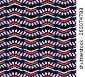 ethnic pattern | Shutterstock .eps vector #283074788