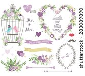 Wedding Floral  Love Bird...