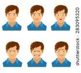 emotions | Shutterstock .eps vector #283095320