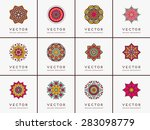 mandalas collection. vintage...