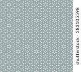 geometric seamless repetitive... | Shutterstock .eps vector #283105598