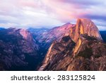 Half Dome Rock Yosemite...
