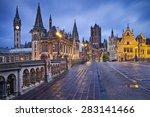 Ghent.image Of Ghent  Belgium...