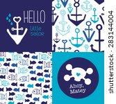 Hello Little Sailor Kids Marin...