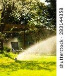 Gardening. Lawn Sprinkler...