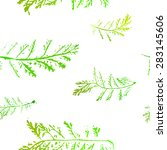 seamless imprints pattern of... | Shutterstock .eps vector #283145606