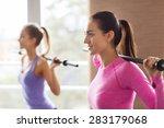 fitness  sport  training  gym... | Shutterstock . vector #283179068