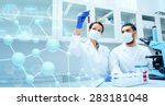 science  chemistry  technology  ... | Shutterstock . vector #283181048