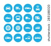 car icons universal set for web ... | Shutterstock .eps vector #283188320