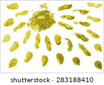 abstract brush stroke to use as ... | Shutterstock .eps vector #283188410