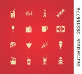 cafe icons universal set for... | Shutterstock .eps vector #283188776