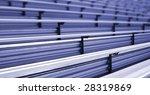 Bleachers In A Stadium Or...