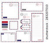 Airmail Stationery Set  Paper ...