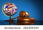 international law systems ... | Shutterstock . vector #283209344