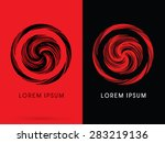 abstract circle  designed using ... | Shutterstock .eps vector #283219136