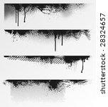 four grunge edges for your... | Shutterstock .eps vector #28324657