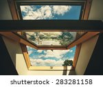 Open Roof Window Skylight With...