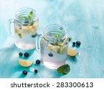 Citrus Lemonade With Blueberry...