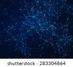 abstract digital background... | Shutterstock . vector #283304864
