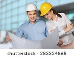 engineer  construction ... | Shutterstock . vector #283324868